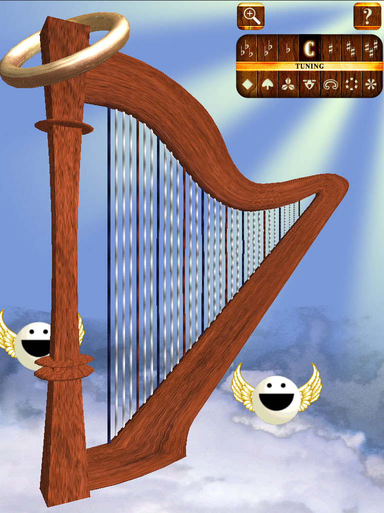 Angel Harp! Heaven!